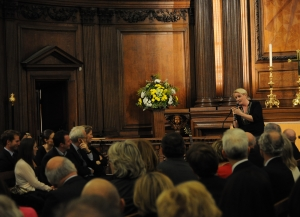 Julia and audience at the Royal Hospital Chelsea.jpg