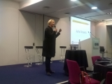 Julia Streets speaking at the 2015 WEConnect International Europe conference