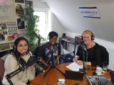 L-R: Jazz Bhogal, Rosa Moran - Baker and Julia Streets on DiverCity Podcast